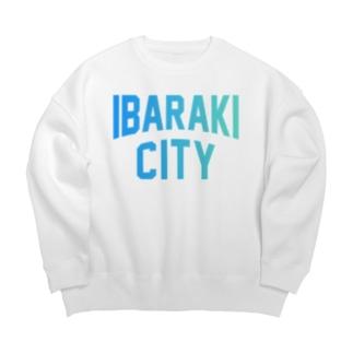 茨木市 IBARAKI CITY Big silhouette sweats