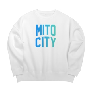 水戸市 MITO CITY Big silhouette sweats