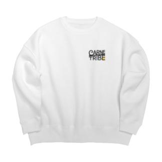 CarneTribe カラーロゴ ビッグスウェット Big silhouette sweats