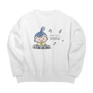 """""""otoha""""Music Class Big silhouette sweats"""