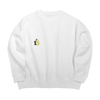 オリジナルごりしゃんパーカー Big Crew Neck Sweatshirt