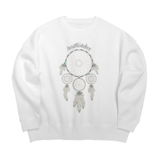 Dreamcatcher(淡色ボディ用) Big silhouette sweats