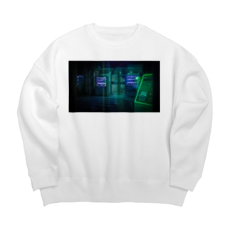 cyber punk Big silhouette sweats