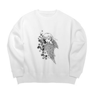 堕天使ちゃん2 Big silhouette sweats
