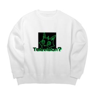 「Television?」 Big silhouette sweats