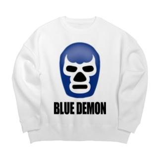 BLUE DEMON / ブルーデモン Big silhouette sweats