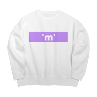 低学歴ブランド  'm' KAMIHITOE'm'  Big silhouette sweats