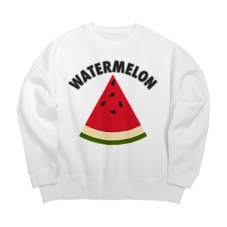 WATERMELON 扇形 Big silhouette sweats