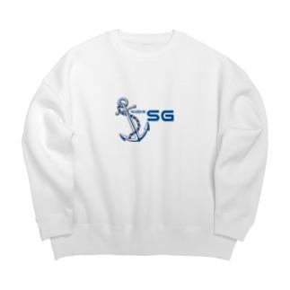 SGロゴ Big silhouette sweats