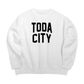 戸田市 TODA CITY Big silhouette sweats