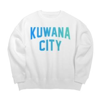 桑名市 KUWANA CITY Big silhouette sweats