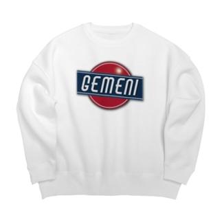 GEMENI-XのGEMENI-11[SIGN] Big silhouette sweats
