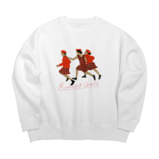 Running Girls ビッグシルエットスウェット