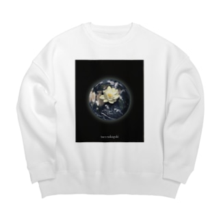 Mother Earth  Big silhouette sweats