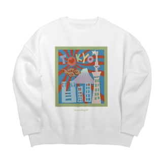 The city of Tokyo  Big silhouette sweats