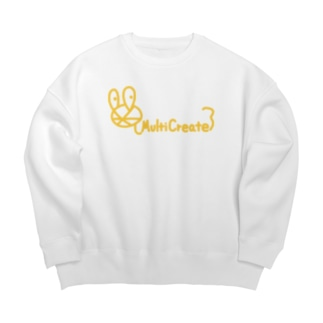 MultiCreateロゴ Big silhouette sweats