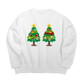 CT88 林さんのクリスマスA Big silhouette sweats