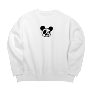 悪態PANDA Big silhouette sweats