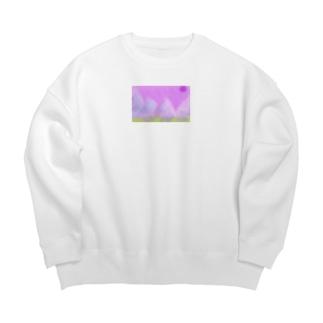 紫星 Big silhouette sweats