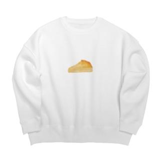 チーズケーキ Big silhouette sweats