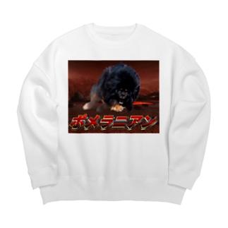 あったかふわふわ Big Crew Neck Sweatshirt