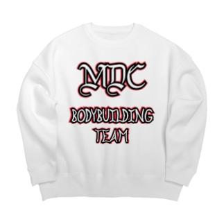 MDC   ボディビルディングチーム Big silhouette sweats