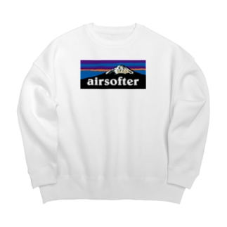 AIRSOFTER mountain Big silhouette sweats