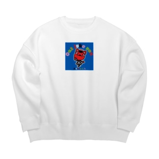 Catjukevoxおもちゃくん Big silhouette sweats
