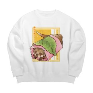 あんこ多めの関東風桜餅 Big silhouette sweats
