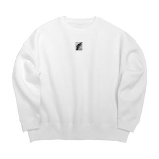 豹紋 Big silhouette sweats