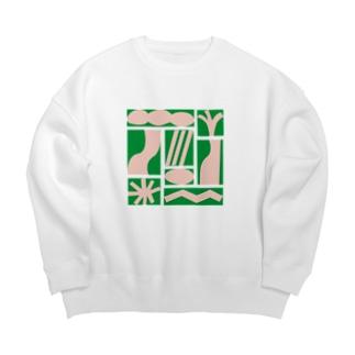 aymgのジャングル Big Crew Neck Sweatshirt