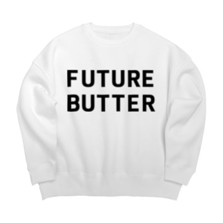 FUTURE BUTTER Big silhouette sweats