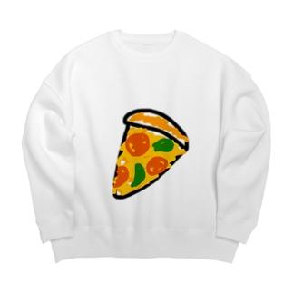 pizza club Big Silhouette Sweat