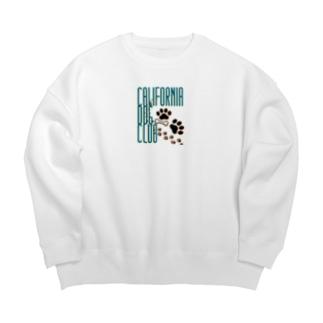 CALIFORNIA DOG CLUB Big silhouette sweats