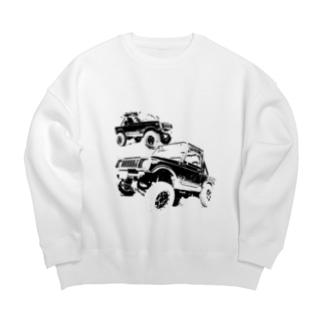 4×4 Big Crew Neck Sweatshirt