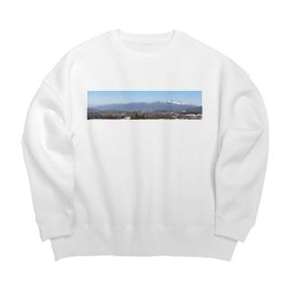 浅間山b Big silhouette sweats