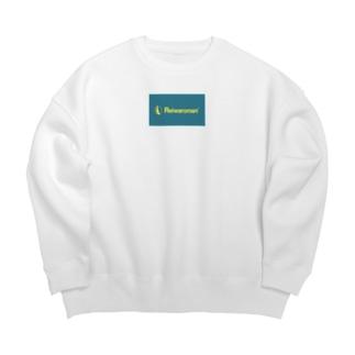 Reiwaroman④ Big Crew Neck Sweatshirt