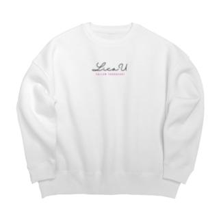 オリジナルブランド LicaU Big silhouette sweats