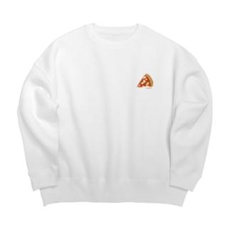 marghrita Big Crew Neck Sweatshirt