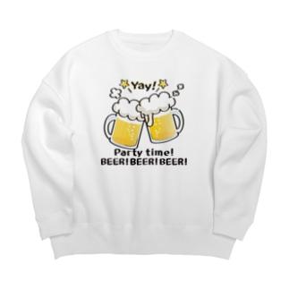 CT125 BEER!BEER!BEER! Big silhouette sweats