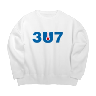 3U7(サウナ) Big silhouette sweats