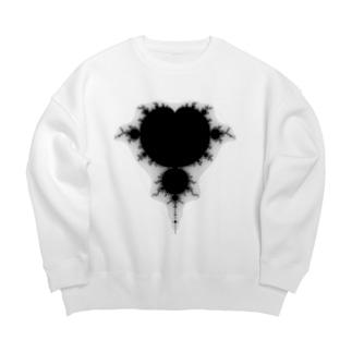 フラクタル Big silhouette sweats