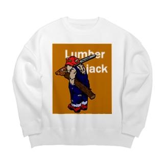 Lumberjack  Big silhouette sweats