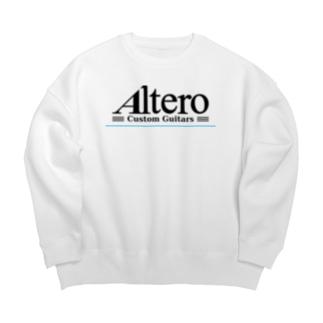 Altero Custom Guitars02(淡色向け) Big silhouette sweats