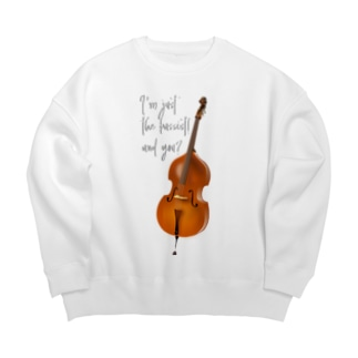 I'm just the bassist! and you? WB h.t. Big silhouette sweats