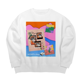 MOMOのレトロなデザイン #01 Big silhouette sweats