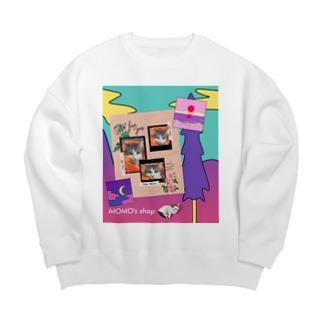 MOMOのレトロなデザイン #02 Big silhouette sweats