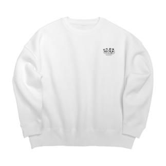 パンダパンダ Big Crew Neck Sweatshirt