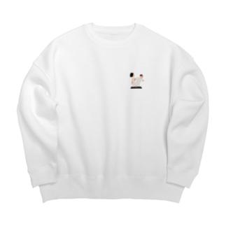 答えろメロス Big Crew Neck Sweatshirt