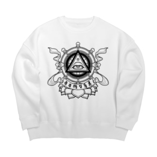 智慧之眼 Big Crew Neck Sweatshirt